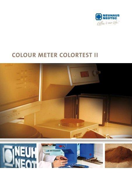 Colour Meter Colortest Ii Neuhaus Neotec