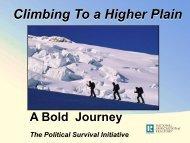 Climbing To a Higher Plain