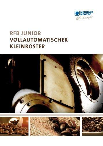 rfb junior Vollautomatischer kleinröster - Neuhaus Neotec