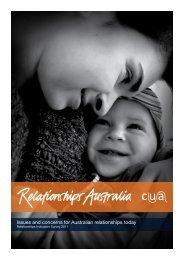 Relationships Indicator 2011 - Relationships Australia