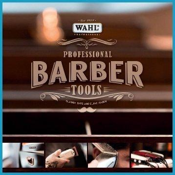 WAHL PROFESSIONAL BARBER TOOLS