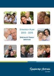 2013 - 2015 Strategy Plan - Relationships Australia Victoria