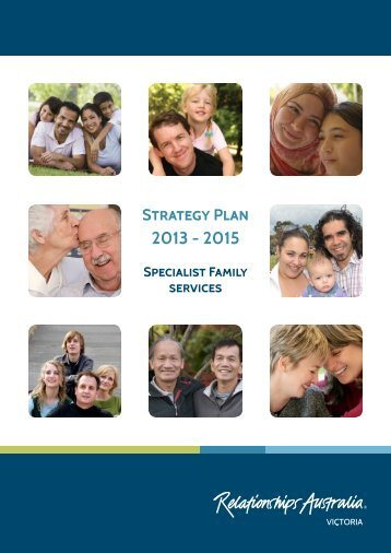 2013 - 2015 Strategy Plan - Relationships Australia Victoria