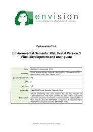 Environmental Semantic Web Portal Version 3 Final development ...