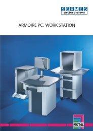 Armoires PC et work stations - SERMES