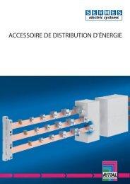 Accessoires distribution énergie - Sermes