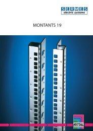 Montants 19 pouces - Sermes