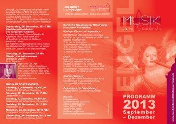 Musik adS_programm 2 13.indd - Musik an der Stadtkirche Nürtingen