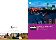 Programme - The Society of Legal Scholars