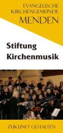 Stiftung Kirchenmusik - Kirche-in-menden.de