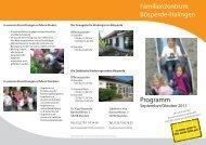 Familienzentrum Bösperde-Halingen Programm - Ev ...