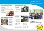 Familienzentrum Bösperde-Halingen - Ev. Kirchengemeinde Menden