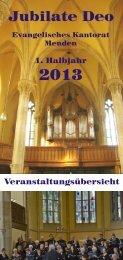 Entwurf 01 - Ev. Kirchengemeinde Menden