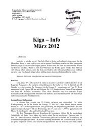 Kiga – Info März 2012 - Ev. Kirchengemeinde Menden