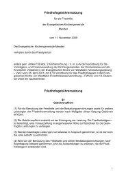 Friedhofsgebührensatzung Friedhofsgebührensatzung - Kirche-in ...