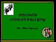 violencia escolar:bullying