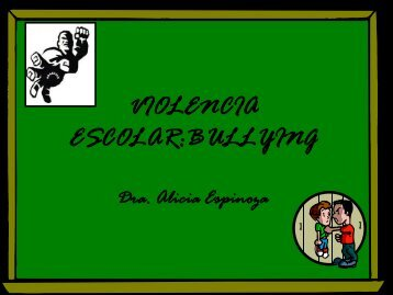 violencia escolar:bullying
