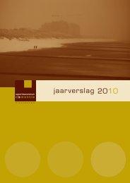 jaarverslag 2010 - Dementie.be
