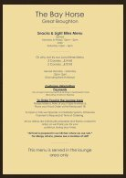 The Bay Horse - Sandwiches & Snacks Menu - Page 2