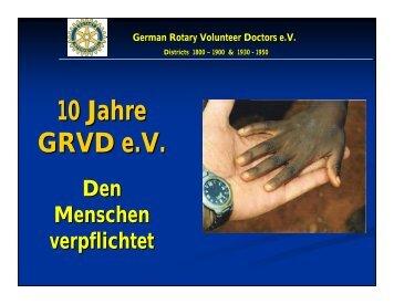 Projekt Manthali 2009 - Rotary Club Erbach-Michelstadt