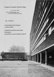 Britain - Seminar für Wirtschafts- und Unternehmensgeschichte