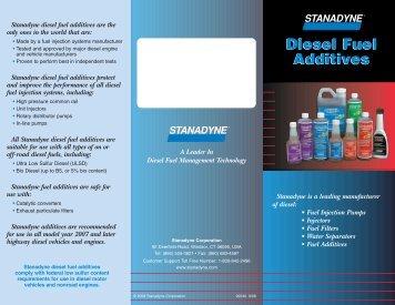 Diesel Fuel Additives Diesel Fuel Additives