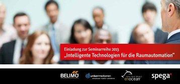 Einladung zur Seminarreihe 2013 - spega.de