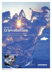 Energy [R]evolution Scenarios - Climate Solver