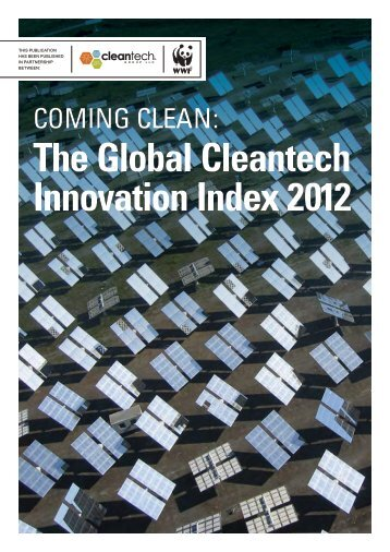The Global Cleantech Innovation Index 2012 - wwf - Australia