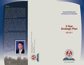 3-Year Strategic Plan - Association of General Contractors
