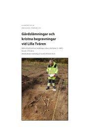 UV Rapport 2011:38 - arkeologiuv.se