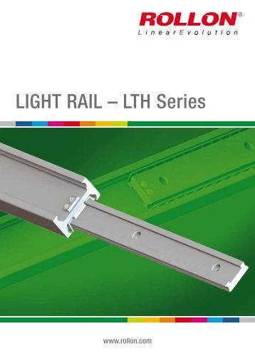 LIGHT RAIL – LTH Series - Rollon Linear Guides