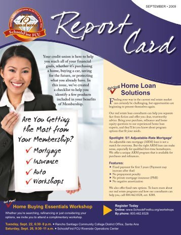 Get More! - SchoolsFirst Federal Credit Union