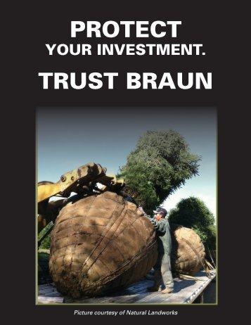 PROTECT TRUST BRAUN