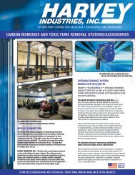 Carbon monoxide and toxic fume removal - Harvey Industries, Inc.