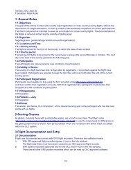 1. General Rules 2 Scoring Classes 3 Flight Documentation ... - OLC