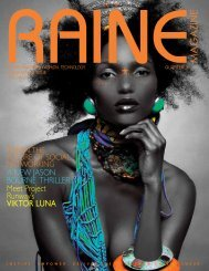 RAINE MAGAZINE Volume 10   International