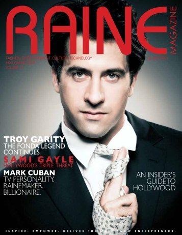 RAINE MAGAZINE Volume 11 | Hollywood & Glamour