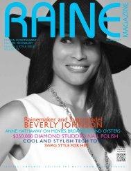 RAINE MAGAZINE VOLUME 13   Fashion & Style