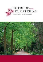 Friedhofs der St. Matthias - St. Matthias Berlin