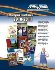 Catalog Brochure - Perma-Bound
