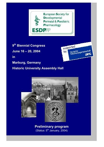 ESDP Conference 2004 - NPPG is here for you.