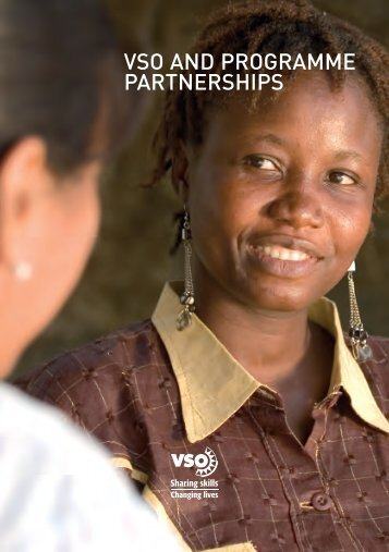 VSO and Programme Partnerships