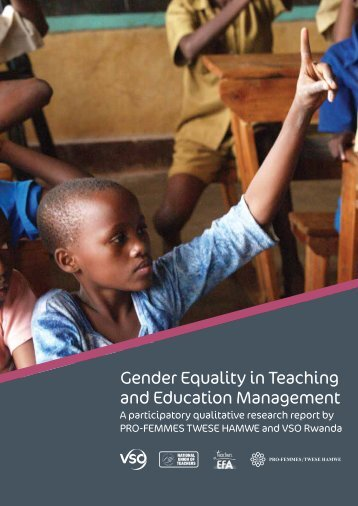Gender Equality in Teaching and Education ... - VSO Ireland