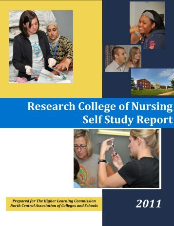 Research College of Nursing Self Study Report