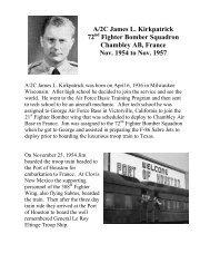 A/2C James L. Kirkpatrick 72nd Fighter Bomber Squadron