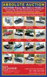 ABSOLUTE AUCTION - Walker Commercial Services, Inc.