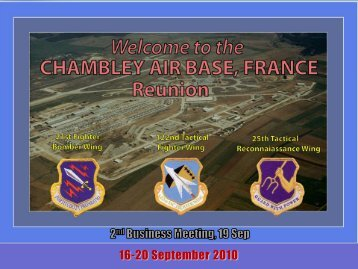 16-20 September 2010 - Chambley Air Base France Home Pages