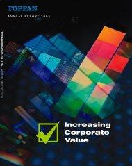 Increasing Corporate Value