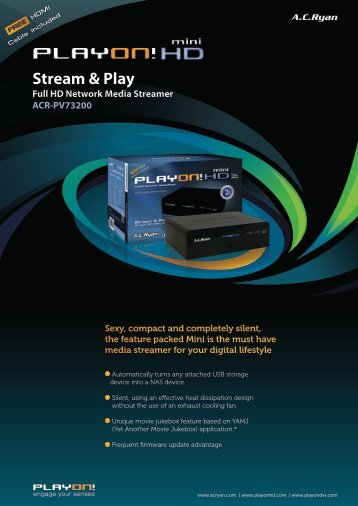 Stream & Play